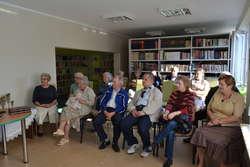 Na spotkanie w bibliotece przyszli mieszkańcy Broku