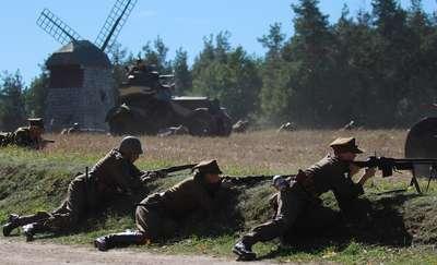 Pogranicze w ogniu po raz drugi w olsztyneckim Skansenie