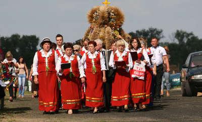 Gminno - parafialne dożynki w Kozłowie