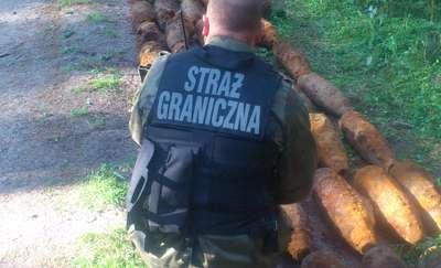 136 pocisków artyleryjskich przy granicy