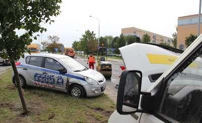 Kolizja na Nagórkach. Uszkodzone trzy samochody