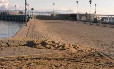 Węgorzewska plaża: Czy to kosmetyka, czy oficjalna naprawa nawierzchni?