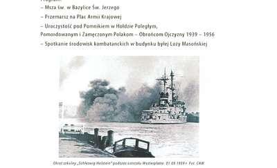 1 września obchodzimy 75. rocznicę wybuchu II wojny światowej