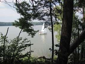 Nidzkie - jezioro dla koneserów żeglarstwa
