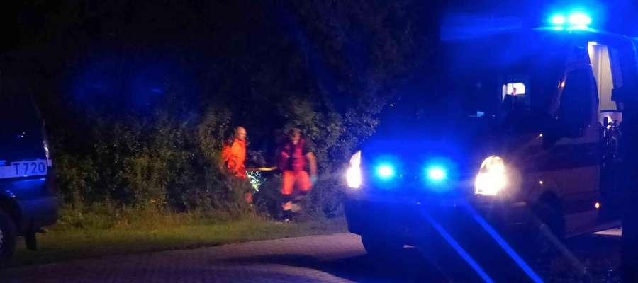 Akcja ratunkowa przy ul. Ogrodowej zakończyła się uratowaniem życia mężczyźnie