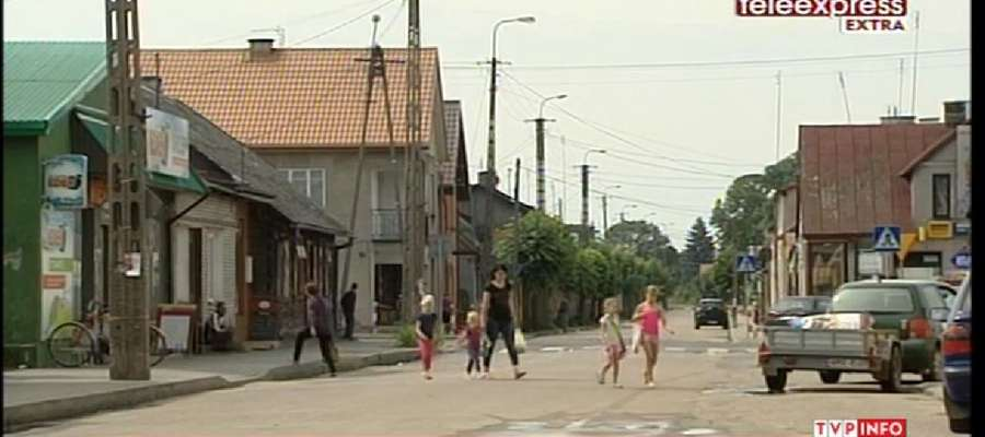 """Reporterzy """"Teleexpressu"""" przyjechali do Krasnosielca"""