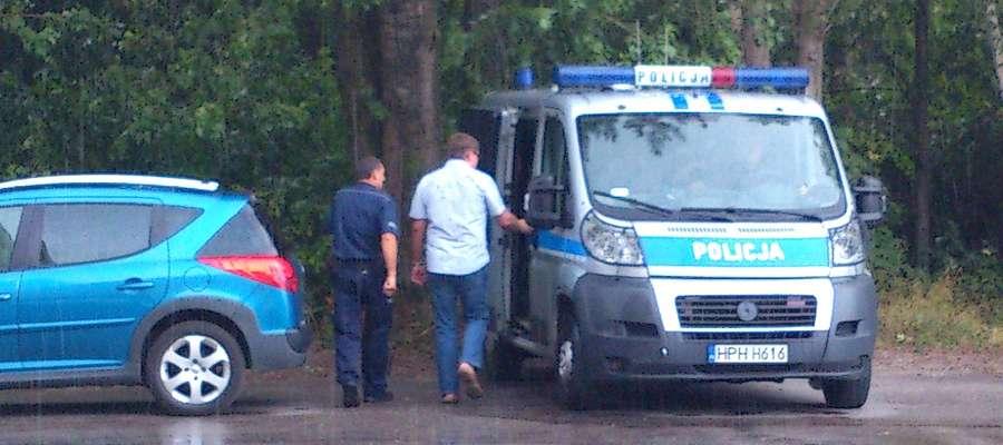 Mariusza M. z oddziału zabrała policja. Był pijany