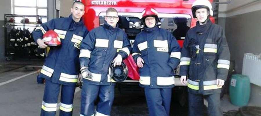 O nowy sprzęt i stroje wzbogacą się m.in. strażacy z OSP Różan AUTOR FACEBOOK