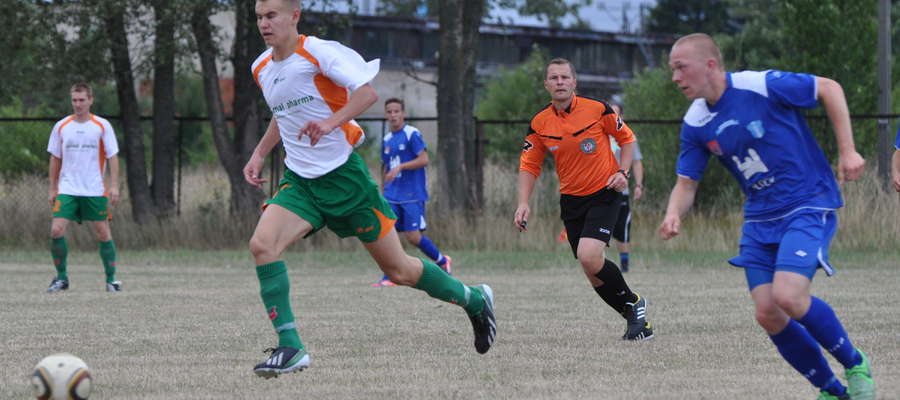 Bartosz Laskowski zagrał w linii ataku