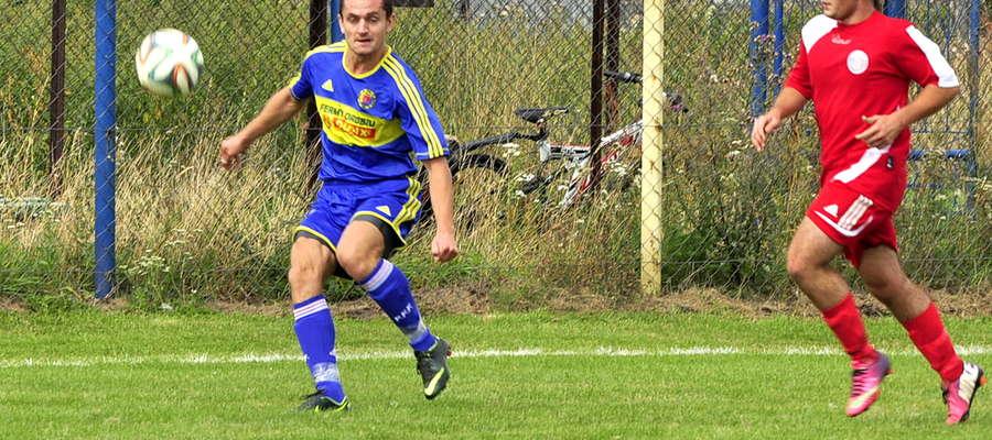 Marek Dudek był cichym bohaterem meczu w Sochocinie