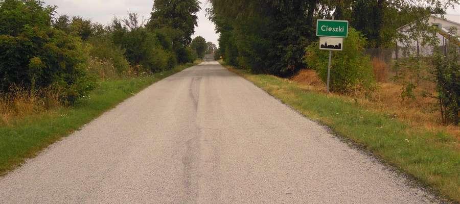 Część dróg powiatowych ma nową nawierzchnię
