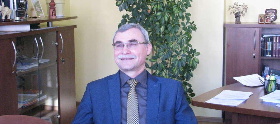 Roman Gisztarowicz, naczelnik Urzędu Skarbowego w Makowie Mazowieckim