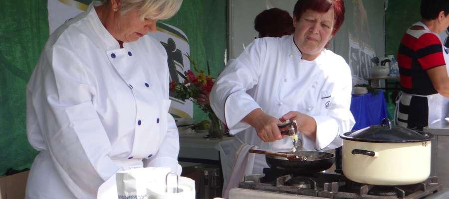 Zwyciężczynie konkursu kulinarnego — panie z KGW w Wielkich Bałówkach