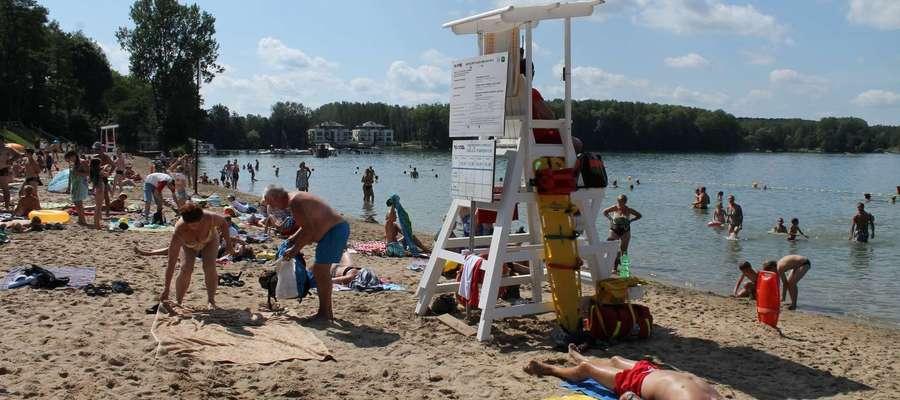 W CRS Ukiel w Olsztynie padł rekord. Plażę odwiedziło ponad milion osób!