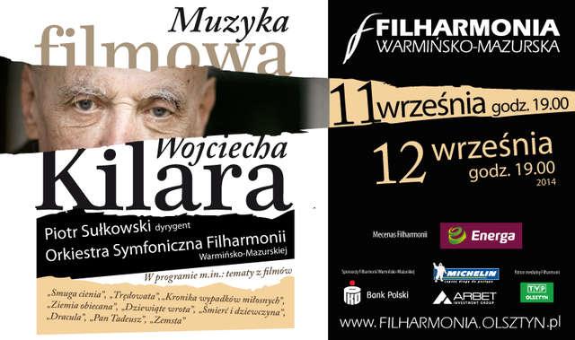 Koncert muzyki filmowej Kilara