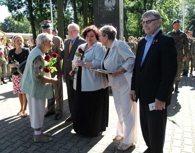 Michał Jasudowicz (pierwszy z prawej) podczas tegorocznych obchodów  Dnia Sybiraka - full image