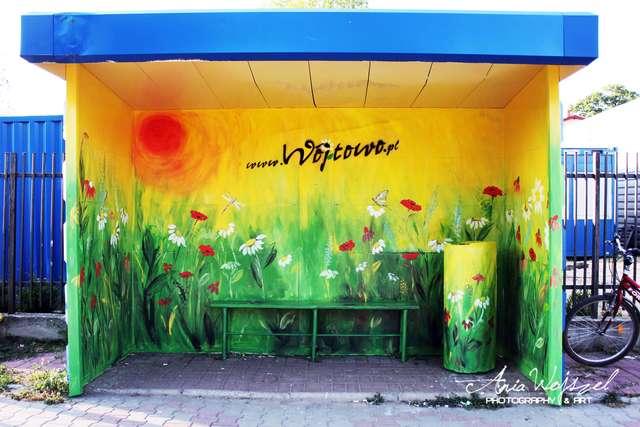 Warmińska łąka na przystanku w Wipsowie - full image