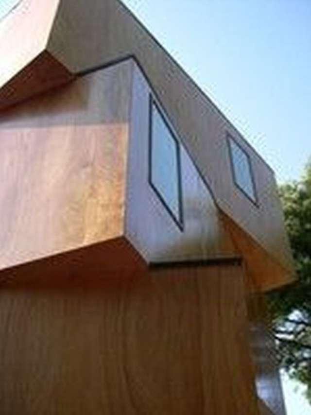 Elewacja z drewna - full image
