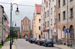 Stare miasto w Pasłęku