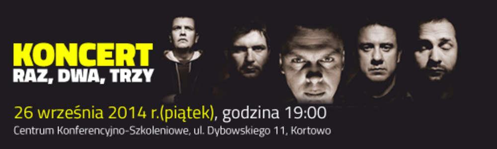 Raz Dwa Trzy w Olsztynie. Mamy dla Was zaproszenia!