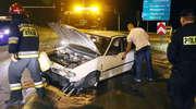 19-latek chciał przetestować auto. Uderzył w słup
