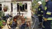 Pożar domu w Iłowie. Nie żyje 62-letni mężczyzna