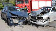 Wypadek na Jagiellońskiej. 2-letnie dziecko w szpitalu