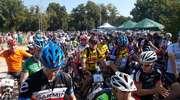 Wielkie górskie rowerowe ściganie w Bażantarni