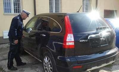 Policjanci odzyskali skradziony samochód