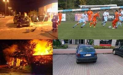 Wypadki, imprezy i mecze - zobacz, co zdarzyło się w weekend