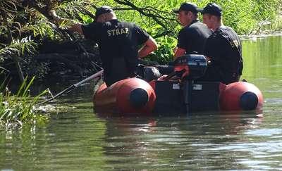 45-latek zginął po wybuchu niewypału. Chciał go wyjąć z rzeki