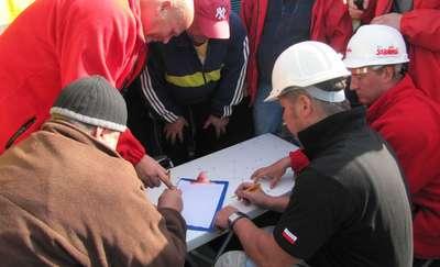 Górnicy zablokowali przejście graniczne w Braniewie. Napisali petycję do Ewy Kopacz