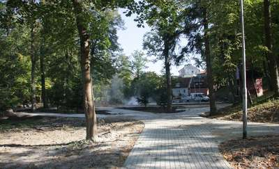 Górowski park w remoncie