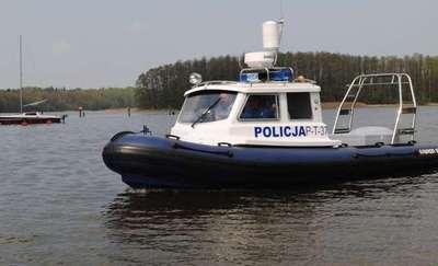 Kolizja łodzi żaglowych na Śniardwach