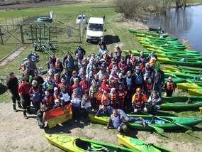 Jesienne sprzątanie rzeki Wel