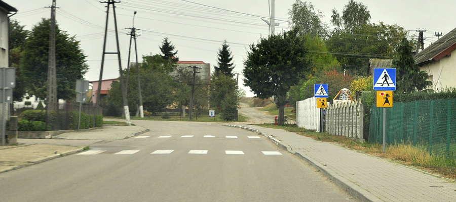 Jedna z ulic przy ZPO jest świetnie oznakowana
