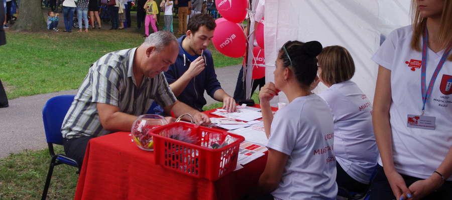 Rejestracja potencjalnych dawców szpiku