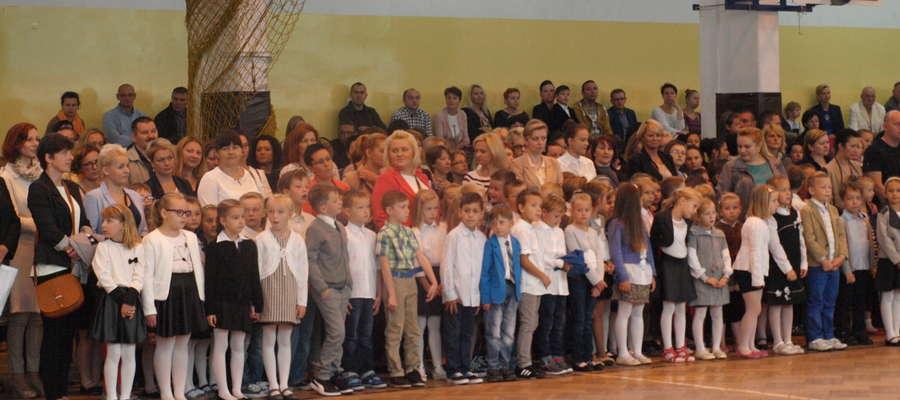 Rozpoczęcie roku szkolnego w ZS nr 1 w Żurominie