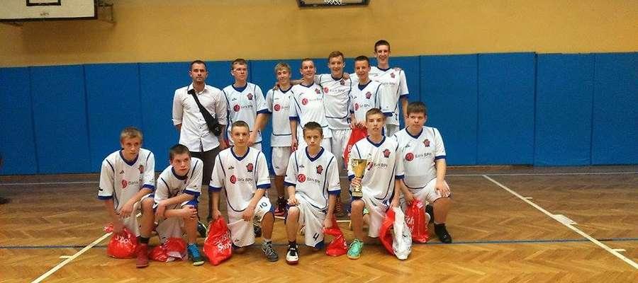 III miejsce kadetów AS Mrągowo w XIV Ogólnopolski Turnieju Koszykówki