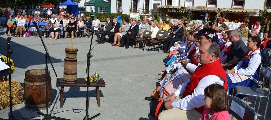 Dożynki w gminie Grunwald odbyły się w Gierzwałdzie