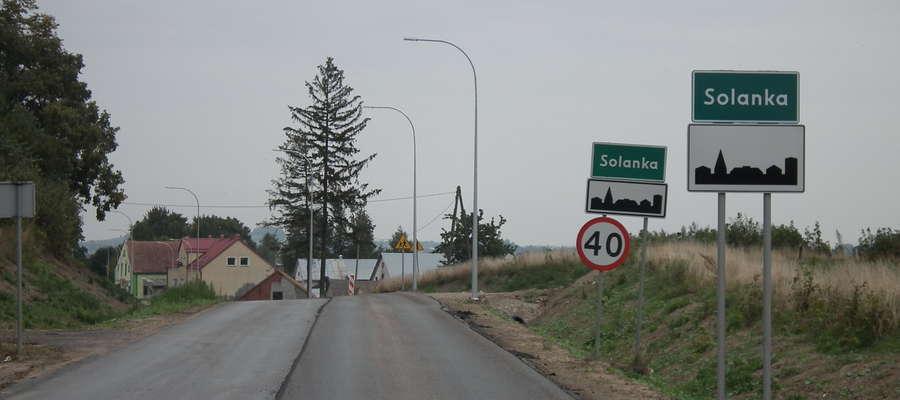 Znaki drogowe na trasie Kętrzyn - Węgorzewo