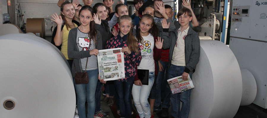 Młodzież z Ługańska odwiedziła naszą redakcję