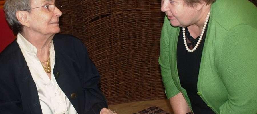 W spotkaniu z panią Kirą uczestniczyła m.in. Sabina Malinowska