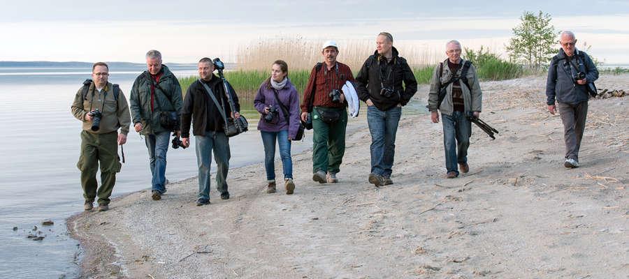 Wspólne wyjazdy w plener to część działalności Elbląskiego Klubu Fotograficznego