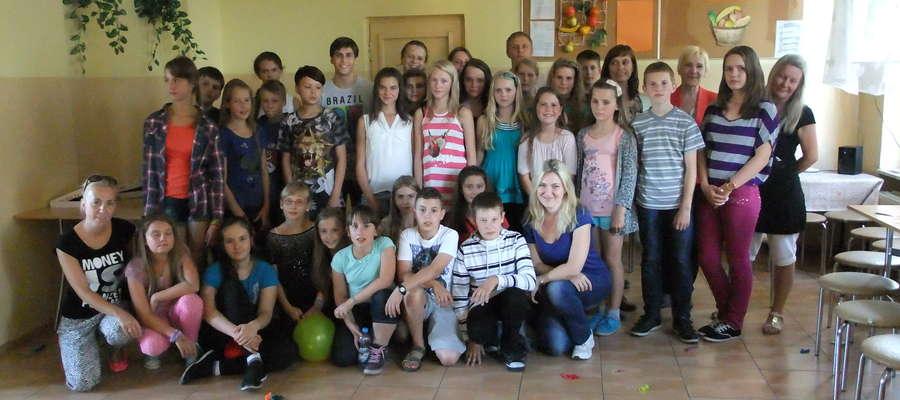 Uczestnicy wymiany polsko-litewskiej