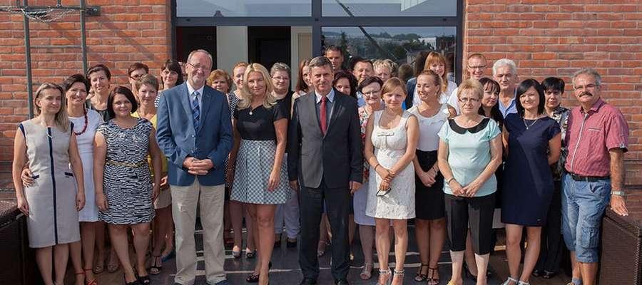 Zespół pracowników DAR S.A., 2014 rok