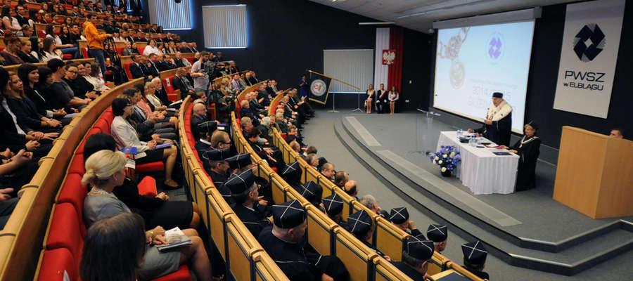 Inauguracja roku akademickiego w Państwowej Wyższej Szkole Zawodowej w Elblągu