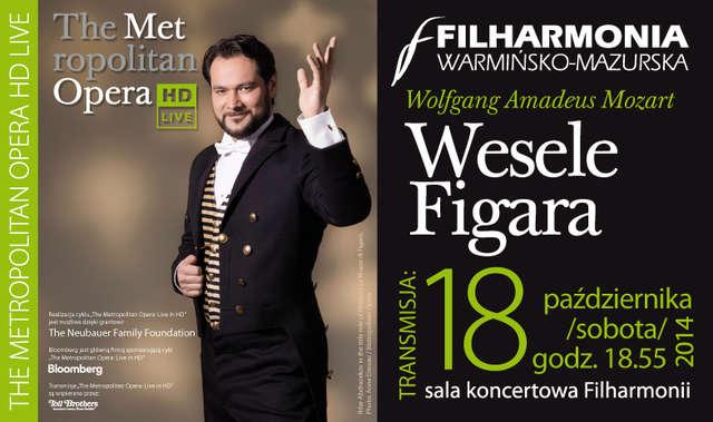 Wesele Figara. Transmisja The Metropolitan Opera HD Live - full image