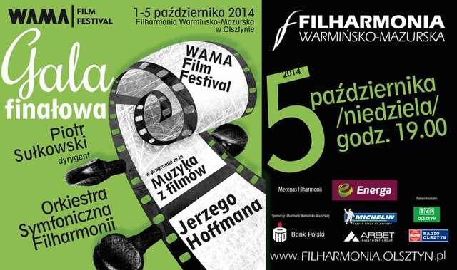 Koncert muzyki filmowej na zakończenie WAMA Film Festival 2014 - full image
