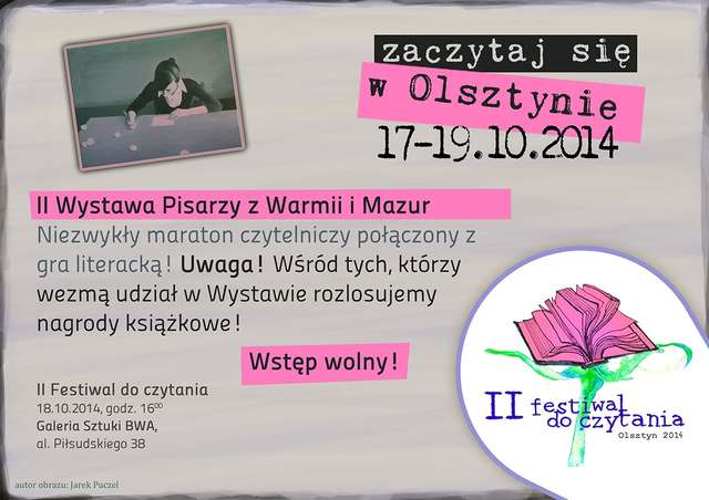 II wystawa Pisarzy Warmii i Mazur w Olsztynie - full image